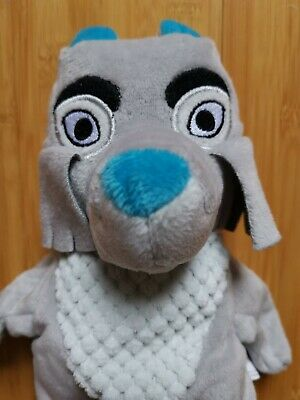 £6.99 • Buy Play Learn Soft Plush Toy Fabeltjeskrant Grey WOLF Hand Glove Puppet 27cm