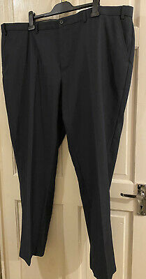 £2.55 • Buy Taylor & Wright Wool Mix Mens Trouser 46R Blue NEW
