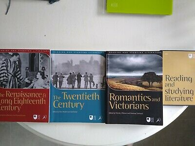 £5 • Buy Open University Reading And Studying Literature A230 Course Materials Books Dvd