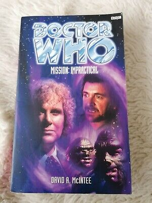 £2 • Buy Doctor Who Book # Mission: Impractical# Paperback # VG Condition