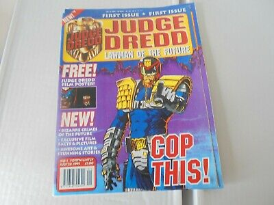 £2.95 • Buy Judge Dredd Lawman Of The Future Issue #1 With Free Poster