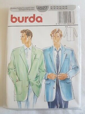 £10 • Buy Vintage Sewing Pattern Mens Jackets, Sizes 46-56 Uncut New Old Stock