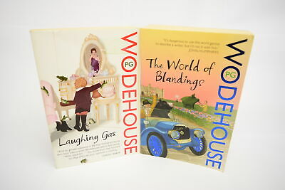 £6.99 • Buy P.G. Wodehouse 2 Book Collection/Bundle The World Of Blandings Laughing Gas
