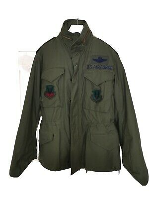 $137.78 • Buy M65 Field Jacket Small Short Dated 1972 With Liner