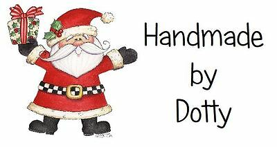 £2.99 • Buy 260 Personalised Mini Address Labels Handmade Etc  🎅 Father Christmas & Gift 🎅