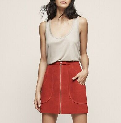 £39.99 • Buy Reiss Suede Skirt UK Size 8
