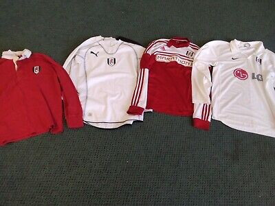£9.99 • Buy Four Fulham Football Club Shirts Excellent Condition