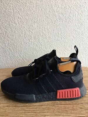 $ CDN12.37 • Buy Adidas NMD R1 CORE BLACK LUSH RED 2016 B37618 Size 8.5 US Men's  Pre-Owned