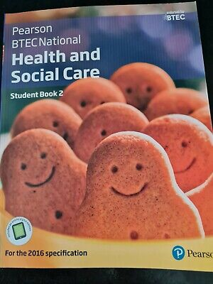 £15.50 • Buy Pearson Btec National Health And Social Care Student Book 2