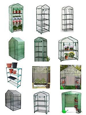 £17.99 • Buy Greenhouse PE Or PVC Plastic Outdoor Garden Grow Bag Green House With Shelves