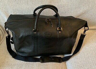 £430 • Buy Vintage *MULBERRY* Darwin Leather Clipper Duffle Weekend Travel Holdall Bag