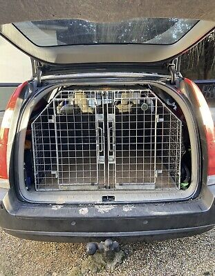 £305 • Buy Guardsman Double Dog Cage Volvo V70/XC70 2000-2007 2nd Generation Only Barjo