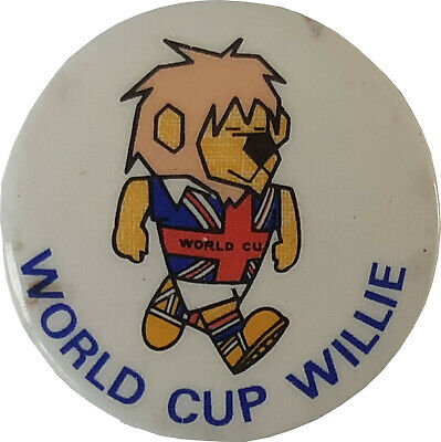 £9.99 • Buy RARE England 1966 World Cup Willie Button Badge Excellent Condition For Age