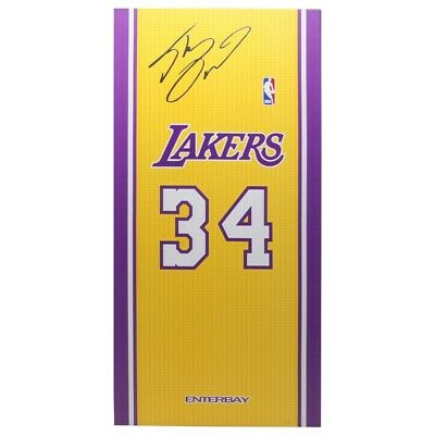$340 • Buy Enterbay NBA LA Lakers Shaquille O'Neal Real Masterpiece 1/6 Scale Figure