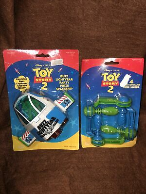 £7.16 • Buy Vintage Toy Story 2 Buzz Lightyear Party Prize Spaceship New W 4 Noise Makers B9