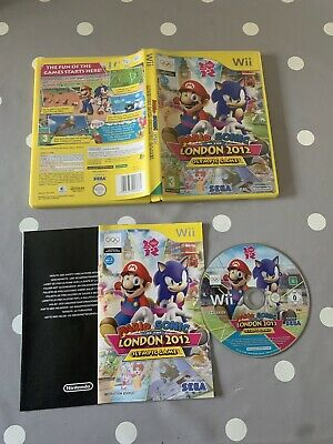 £4.99 • Buy Mario And Sonic At The London 2012 Olympic Games - Nintendo Wii Game