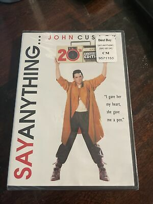 AU13.32 • Buy Brand New ~  Say Anything  (20th Anniversary Edition) ~ DVD ~ FREE SHIPPING