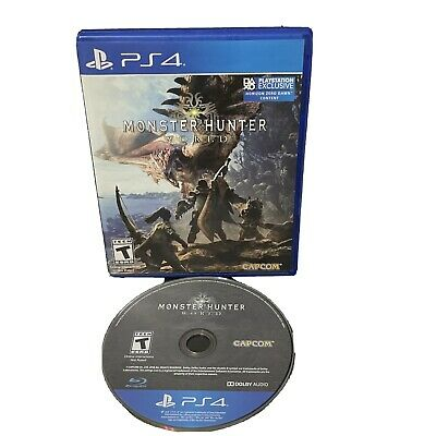 AU20.25 • Buy Monster Hunter World For Playstation 4 (PS4) Action / Adventure