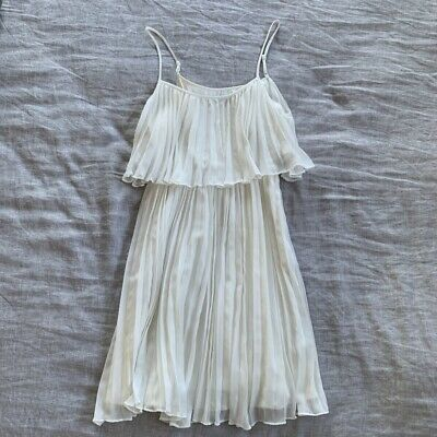 AU20 • Buy Forever New White Pleated Dress
