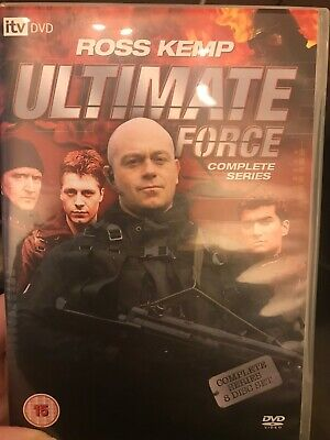 £4.08 • Buy Ultimate Force - Complete Series (DVD, 2008, 8-Disc Set, Box Set)