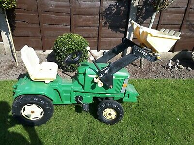 £30 • Buy Rolly Toys John Deere Ride On Pedal Tractor