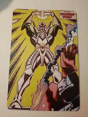 $18 • Buy Thunderwing Transformers Comic Cover Art 8x12 Metal Wall Sign