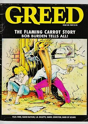 $134.99 • Buy Greed Magazine #6 1989 1st Appearance Of Milk And Cheese Flaming Carrot Cover