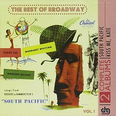 £3.98 • Buy Studio Cast Recording - Best Of Broadway-South Pacific/Kiss Me K [CD]