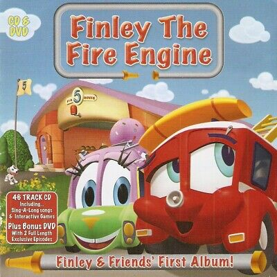 £1.80 • Buy Finley The Fire Engine - Finley And Friends' First Album (CD & DVD 2008)