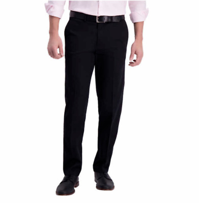 $16.99 • Buy Haggar Men's Premium Straight Fit Perfect Fit Waistband No Iron Pants - NWT!!
