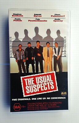AU27.99 • Buy  Like New  Kevin Spacey  The Usual Suspects  Vhs Video Movie 1995 Crime Thriller