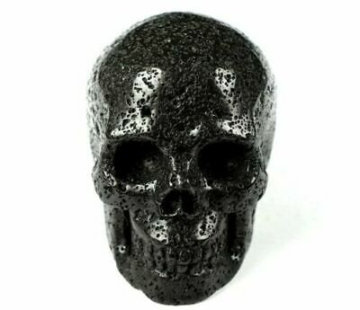 $22.99 • Buy 2.0 IN Genuine HOT LAVA STONE Carved Crystal Skull, Realistic, Healing #1464