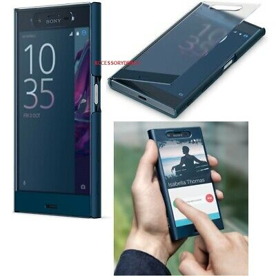 AU22.05 • Buy Genuine Sony Xperia XZ Flip Case Smart Phone Clear Touch Style View Wallet Cover
