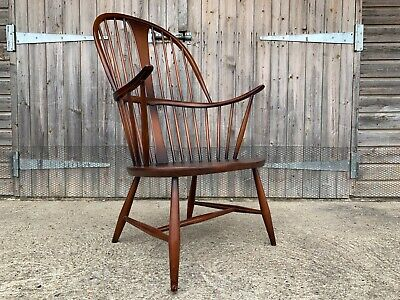 £235 • Buy Vintage Retro 60's Ercol Windsor Chairmakers Armchair Fireside Mid Century Chair