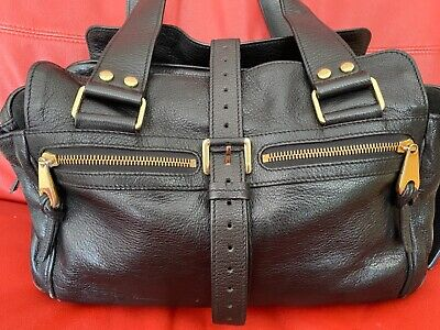 £209 • Buy Authentic Mulberry MABEL Bag Black Leather With Dust Bag Fantastic Condition