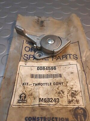 £85 • Buy Throttle Lever 0084596 Fits Wacker BS45Y BS52Y Trench Rammers Spares Parts