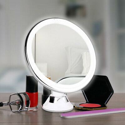 £12.59 • Buy 18LED Makeup Mirror With 10X Magnifying Mirror Light Settings Cosmetic Mirror