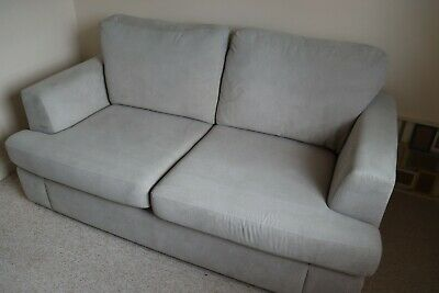 £350 • Buy Ikea Light Grey Two Seater Sofa And Pull Out Double Bed