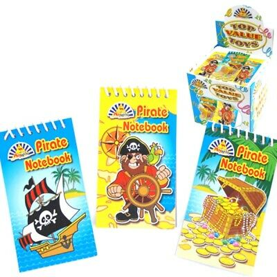 £2.49 • Buy Children's Animated Pirate Spiral Character Notebooks Top Bound Party Filler