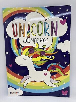 AU4.04 • Buy Bendon Unicorn Coloring Book For All Ages W/ Tear & Share Pages