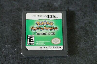 $79.98 • Buy Pokemon Mystery Dungeon: Explorers Of Sky (Nintendo DS) -Authentic Cart- Tested