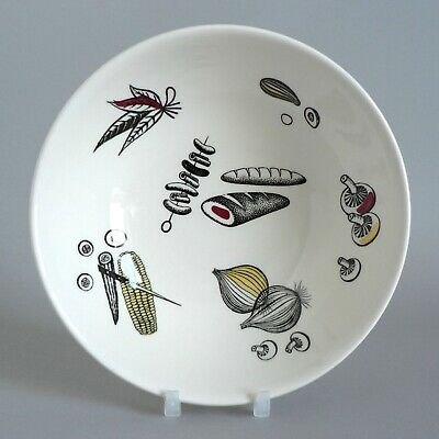 £7.99 • Buy Ridgway Barbecue 6.5  Bowls Vintage Rare Colour Style Oatmeal Fruit Mid-century