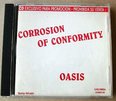 £25.41 • Buy OASIS Live Forever / Supersonic ARGENTINA PROMO CD 1994 Corrosion Of Conformity