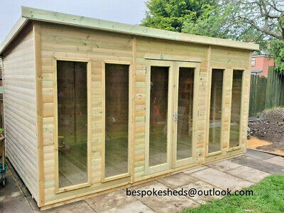 £2600 • Buy Summer House Shed Garden Office Log Cabin Man Cave Lead Time 10-14 Weeks