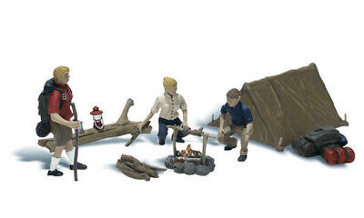 £13.62 • Buy Woodland Scenics ~ N Scale People ~ Campers ~ A2199