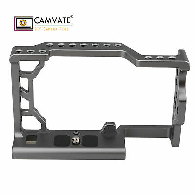 $ CDN22.90 • Buy CAMVATE Aluminum Form-Fitting Cage For Sony A6500 4K Cameras