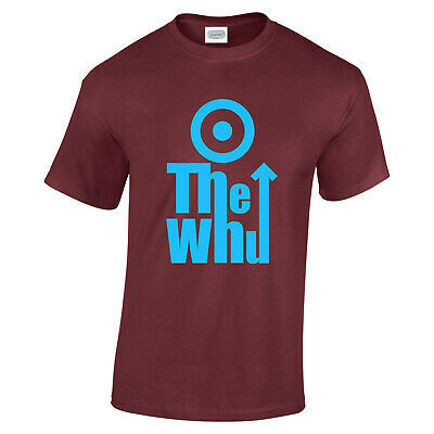 £13.95 • Buy The WHU Upton Park Hammers Irons Football Fan T Shirt 3 Colours Up To 3XL