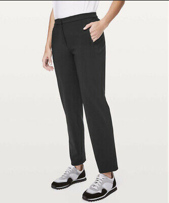 """$ CDN88.12 • Buy Lululemon On The Move Pant *LightWeight Black Size 6 Stretch Relaxed 28"""" NWT"""