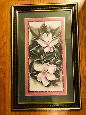 $27.29 • Buy Home Interiors Homco Magnolia Flowers Pictures By Donna Heath Brooks RARE