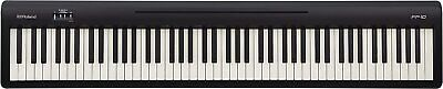 AU813.51 • Buy New ROLAND FP-10 BK Electronic Piano Portable Piano Keyboard From Japan